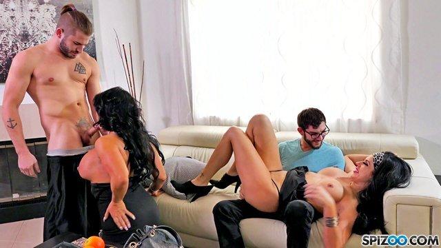 Порно Обслужили По Полной
